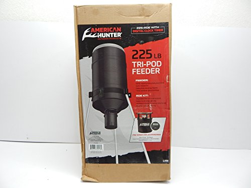 AMERICAN HUNTER Tripod Feeder Digital 225 lb. Capacity...