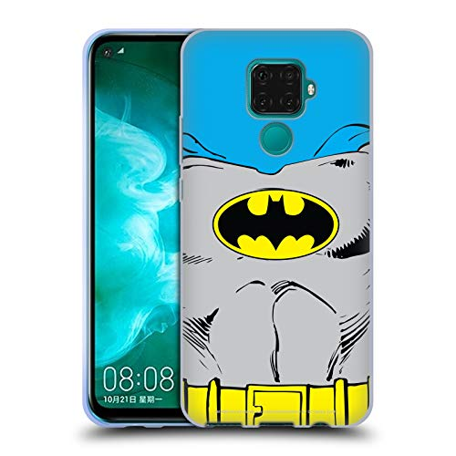 Head Case Designs Oficial Batman DC Comics Disfraz clsico Logotipos Carcasa de Gel de Silicona Compatible con Huawei Nova 5z