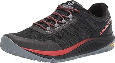 Merrell Men's Nova Gtx Trail Running Shoes, Black, 10.5 UK
