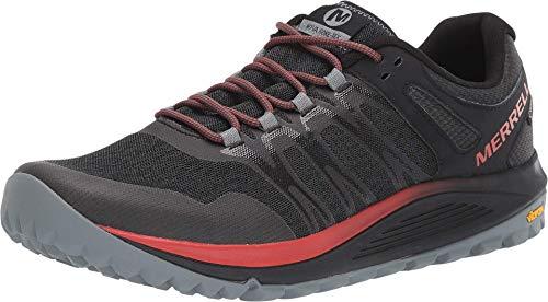 Merrell Nova GTX, Zapatillas de Running para Asfalto para Hombre, Negro, 43.5 EU