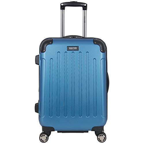 "Kenneth Cole Reaction Renegade 20"" Carry-On Lightweight Hardside Expandable 8-Wheel Spinner Cabin Size Suitcase, Vivid Blue"