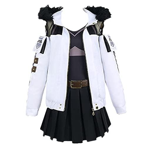 D4DJ Yamate Kyōko Cosplay Costume Uniform Dresses Christmas Halloween Costume (Female XL)