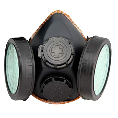 DARIT® Dust-Proof Paint Gas Double Exhaust Double Cartridge Organic Vapours Of Low Toxicity Filter mask (MASK)