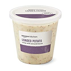 Amazon Kitchen, Loaded Potato Soup with Uncured Bacon, 24oz