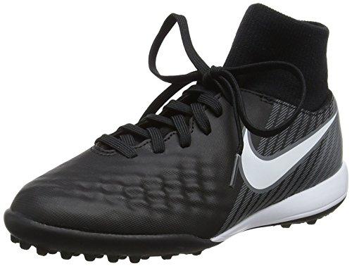 Nike Jr Magistax Onda II DF Tf, Scarpe da Calcio Unisex-Bambini, Nero (Black/White-Dark Grey), 36 EU