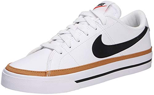 Nike Court Legacy, Zapatillas Mujer, Blanco y Negro, 42 EU
