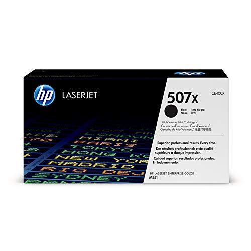 HP 507X | CE400X | Toner Cartridge | Black | High Yield