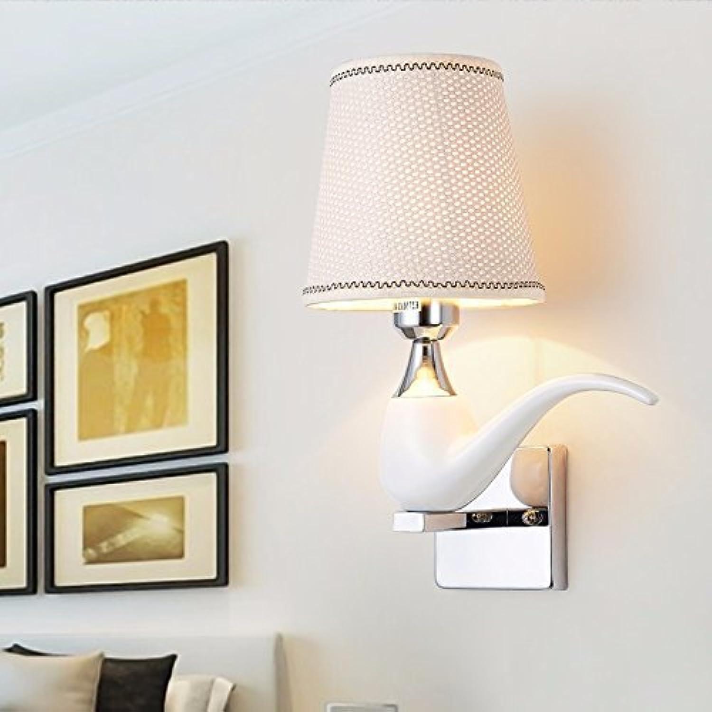 Die LEDS die moderne Wandleuchte, minimalistisch wie Esszimmer Wohnzimmer Schlafzimmer kreative Persnlichkeit von Stoffen Harzbett Wandleuchten Studie,