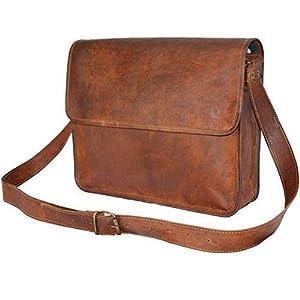 Große Ledertaschen Vintage Soft Leder Messenger braun Laptoptasche Tasche echte Aktentasche Best Business Reisen 18 Zoll
