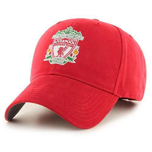 Liverpool FC Herren Baseball Kappe (Einheitsgröße) (Rot)