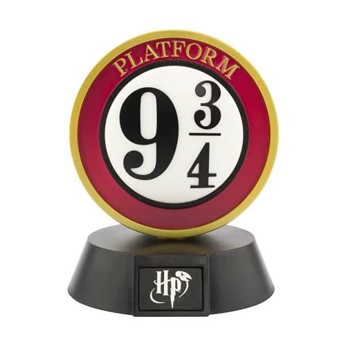 Paladone Plateforme 9 3/4 Icon Bdp | Inspiré par la Série Harry Potter | Idéal pour Les Chambres D'enfants, le Bureau et La Maison | Pop Culture Lighting, Rouge