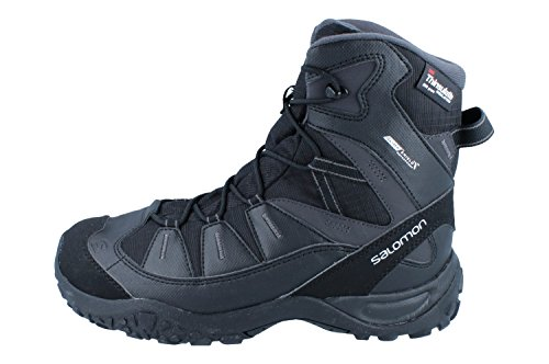 Salomon djimara TS CS WP Womens Hiking Botas/Zapatos–Negro, color negro, talla 45...