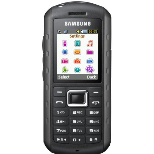 Samsung B2100 Outdoor Handy (1,3 MP-Kamera, MP3, IP57-Zertifizierung, wasserdicht) [EU-Version] modern-black