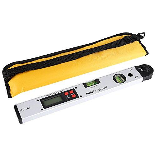 Detector de �ngulo de Prolongador Digital de 360 °, de digital Buscador de ángulo magnético Inclinómetro Para Nivel de Espacio Horizontal Vertical