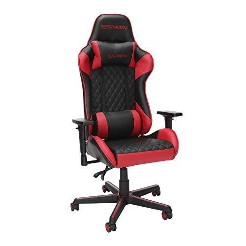 RESPAWN 100 Racing Style Gaming Chair, in Red (RSP-100-RED)