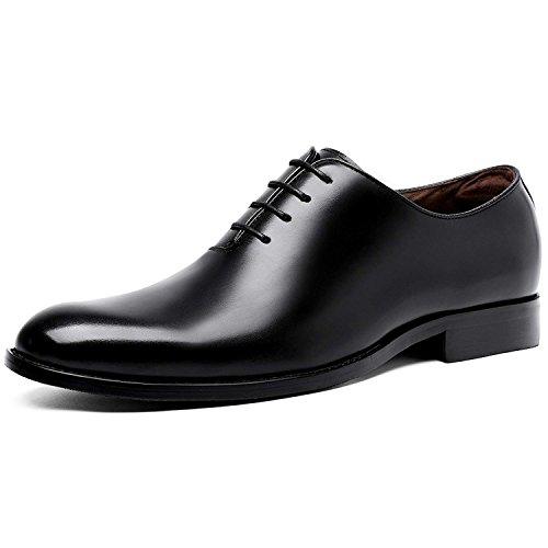 (フォクスセンス)Foxsense ビジネスシューズ 紳士靴 メンズ 本革 プレーントゥ 内羽根 革靴 ブラッ...