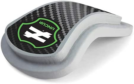 Unequal Uncup Athletic Cup with Proven Hart Technology Made Using 4-Layer High-Impact Military-Grade Patented Composite