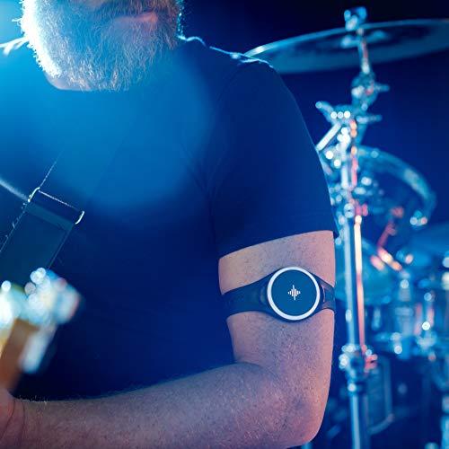 Soundbrenner Pulse | Tragbares, vibrierendes Metronom | Für alle Instrumente (Gitarre, Piano, Schlagzeug) | Tap Tempo (BPM) + Visueller Beatzähler | Übe wie ein Profi