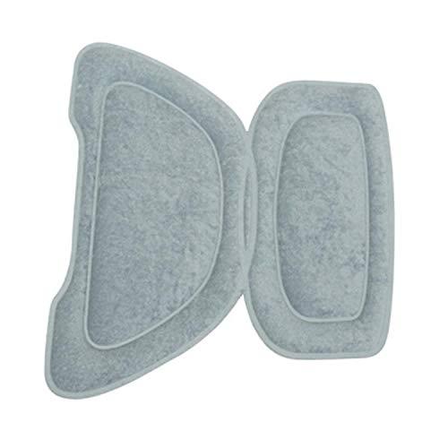 Kissen für Kindersitz, poliert, hinten für Jungen, Grau (einzeln erhältlich)
