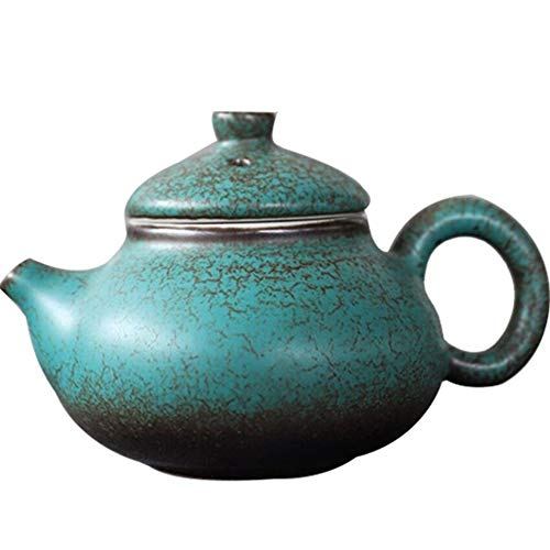 Ceramic Teapots Green Chinese Tea Pot 140ml Tea Play Pot Yixing Teapot Ceramic Coffee Pot Household Tea Set Tea Set Accessories