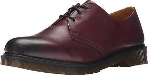 Dr. Martens 1461 Temperley, Mocassini Unisex-Adulto, Rosso (Cherry Red), 41