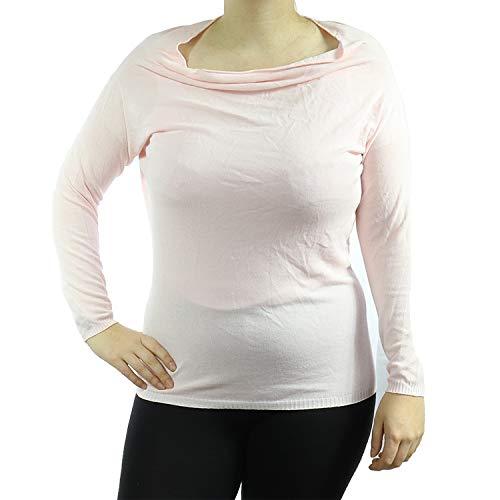Kontatto Damen Langarmshirt 3M2519 (Rosa/Pink, U)