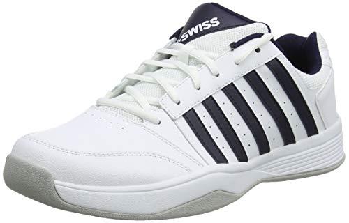 K-Swiss Performance Herren COURT SMASH CARPET-MAGNET/WHITE/HIRS-M Tennisschuhe, Weiß, 10 000070584), 44.5 EU