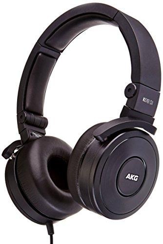 AKG K618DJ Premium DJ Headphones, Black