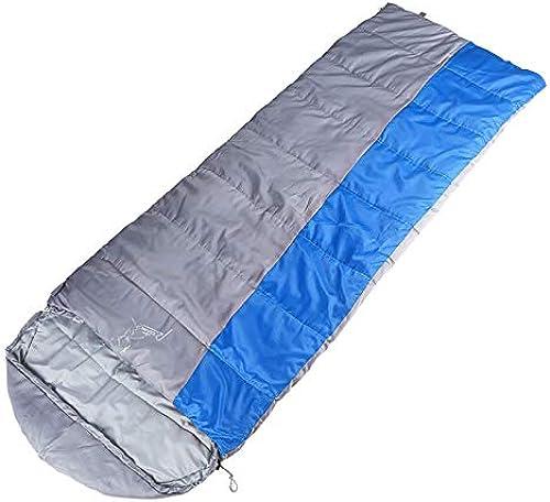 WILRND Home Sac de Couchage Adulte en Plein air Voyage Hiver Saisons Chaudes Camping intérieur Double Sac de Couchage en Coton Creux Creux (Taille   B)