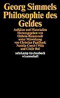 Georg Simmels ' Philosophie des Geldes': Aufsaetze und Materialien
