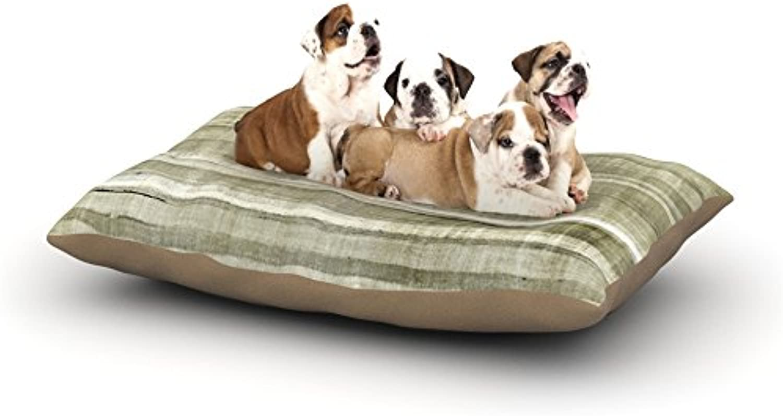 Kess InHouse CarolLynn Tice Shallow  Fleece Dog Bed, 30 by 40Inch, Cool bluees