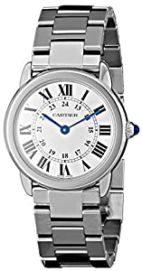 Cartier Women's W6701004 'Ronde Solo' Stainless Steel Watch with Link Bracelet image