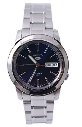 Seiko SNKE51K1S Reloj analógico de Acero Inoxidable con Esfera Azul para Hombre