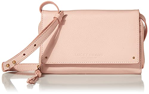 Lucky Brand womens Aila Convertible Wallet, Apricot Blush, Small US