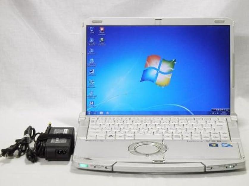 トランペット期限花【中古】Panasonic Let's note F10(CF-F10AWHDS) i5 580M(2.66GHz) メモリー4GB HDD320GB DVDSM 64Win7 DtoD有