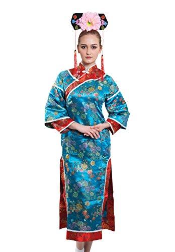 Bristol Novelty AF105 Japanse Dame Kostuum, Vrouwen, Multi Kleur