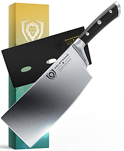 DALSTRONG Cleaver Knife - 7' - Gladiator Series - Heavy...