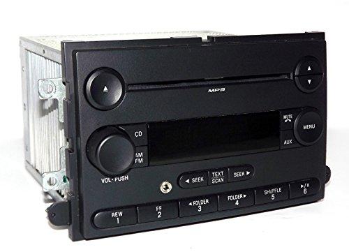 2007-2008 Ford F-150 Pickup Truck Radio AM FM mp3 CD w Aux Input 7L3T-18C869-BH (Certified Refurbished)