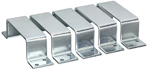 National Hardware Zinc-Plated Steel Closed Bar Holder 1 pk