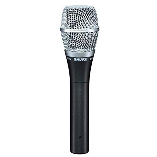 SHURE SM86-LC - Micrófono de voz cardioide de condensador para el uso profesional en actuaciones en vivo en el escenario, Calidad de estudio con una fabricación para aguantar los rigores de las giras