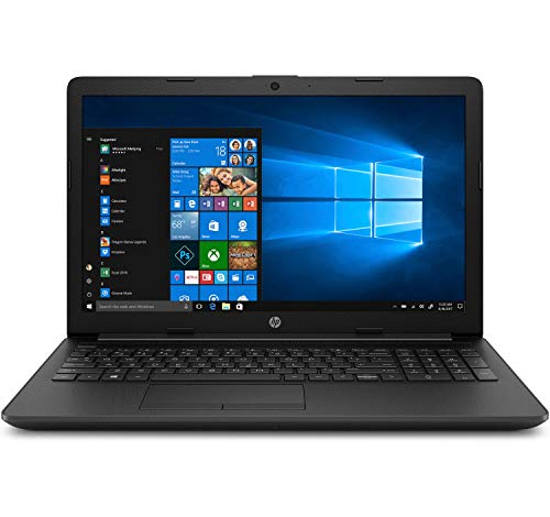 HP 15-db0092ns - Ordenador portátil 15.6' HD (AMD A4-9125 Dual-Core, 4 GB RAM, 1 TB SATA, AMD Radeon R3, Windows 10 Home) Negro - Teclado QWERTY Español