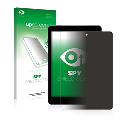 upscreen Anti-Spy Blickschutzfolie kompatibel mit Kiano SlimTab 8 Privacy Screen Sichtschutz Bildschirmschutz-Folie