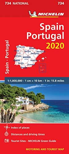 Price comparison product image Spain & Portugal 2020 - Michelin National Map 734 (Michelin National Maps)