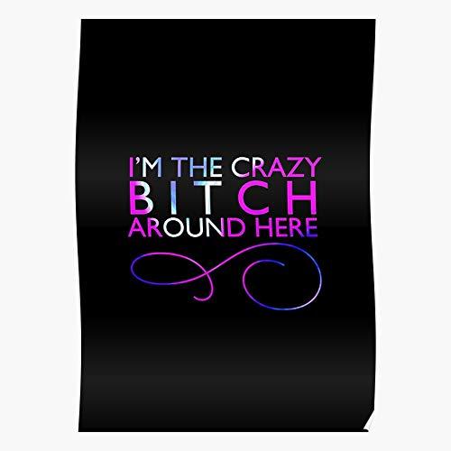 ROSABELLA Crazy Leighton Girl Tv Gossip Waldorf Meester Show Blair Das eindrucksvollste und stilvollste Poster für Innendekoration, das derzeit erhältlich ist