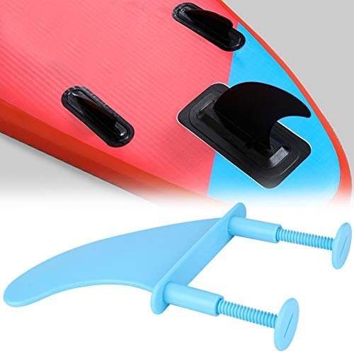 AMONIDA Kunststoff-Surfbrettflossen, Ersatz für Surfzubehör Leichte, praktische, tragbare Surfbrettflossen, Surfbrettliebhaber für das Surfen im Freien