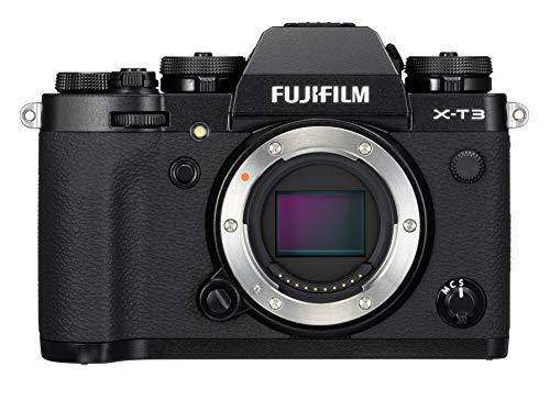 FUJIFILM 7555 Câmera Digital sem Espelho X - T3, Somente Corpo, Preta