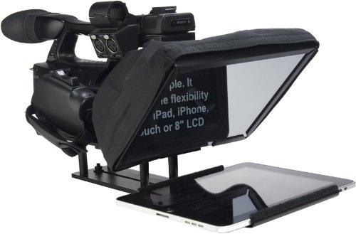 Prompter People UL-iPAD2-ENG UltraLight Teleprompter for iPad 2 (Black)
