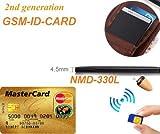 Nuevo micrófono y auricular Espía Gsm Invsible Id Card Bluetooth inalámbrico Micro Zeadio Bug