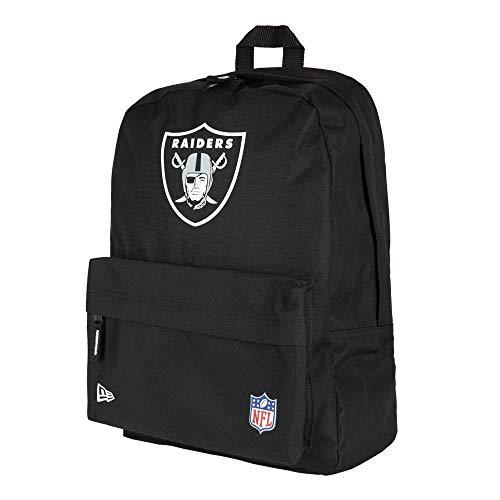 New Era NFL Stadium Bag Oakrai Blkotc Tasche, Unisex, Erwachsene, Schwarz, Einheitsgröße