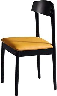 Luqifei Sillas de Comedor Comedor Mueble de casa Rectangular Moderna de los Mediados de Siglo Modernos Sillas de Comedor Cocina Comedor Muebles (Color, Size : 55x45x80cm)